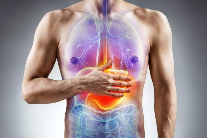 Ejemplo de cuerpo con indigestión