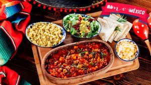 Comida para las fiestas patrias