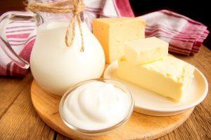 Evita productos lácteos