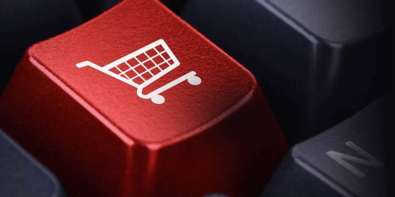 Tecla para comprar en internet