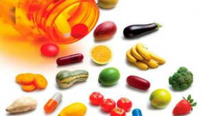 Suplementos alimenticios de colores