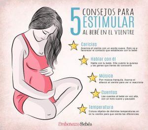 Estimulación temprana para bebés en el vientre