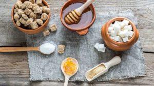 Alimentos sanos para no usar azúcar