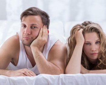 Hombre y mujer sin apetito sexual