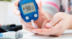 Medicion de glucosa con glucómetro