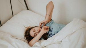puedes aumentar tu peso durmiendo
