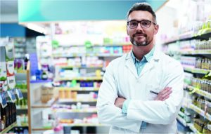 Hombre vendiendo alopurinol aurax