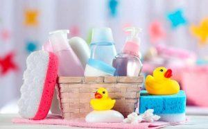 Diferentes accesorios para bebé