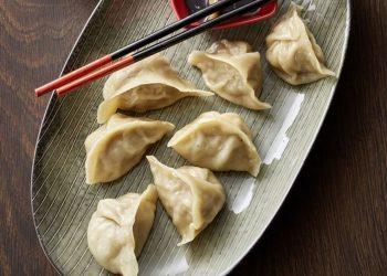 dumplings en plato